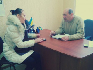 Депутат Ингулецкого районного совета Сергей Костомаха провел прием граждан