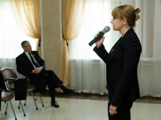 Ольга Бабенко: «Мы продолжаем занятия в «Школе социального лифта»».