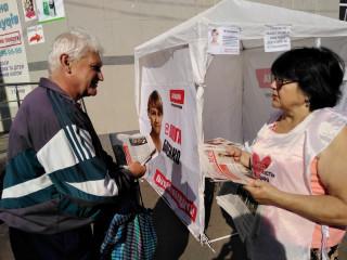 Открытые общественные приемные депутатов на улицах Кривого Рога
