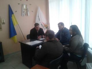 Дмитрий Плакса провел прием граждан
