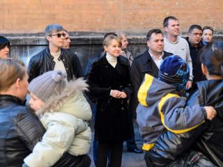 Ольга Бабенко и кандидаты от «Батьківщини» провели встречу с жителями улицы Дышинского