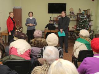 В преддверии Дня Святого Николая в Территориальном центре социального обслуживания Ингулецкого района состоялся праздничный концерт