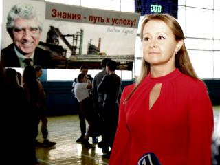 Ольга Бабенко приняла участие в закрытии городского турнира по баскетболу среди девушек