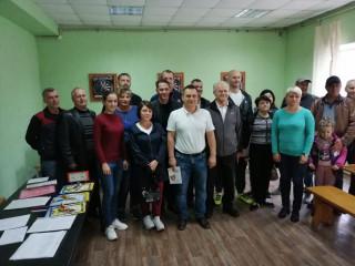 В Ингулецком районе имел место ряд встреч с кандидатами в депутаты от партии ВО «Батьківщина» в местные советы
