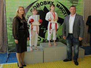 За підтримки Дмитра Левченка проведено обласне змагання з карате