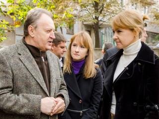 Ольга Бабенко  встретилась с жителями ул. Украинской