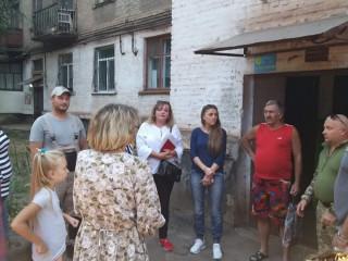 Бездорожье во дворах на Сичеславской