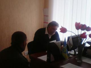 Михаил Карый провел прием граждан в Ингулецком районе