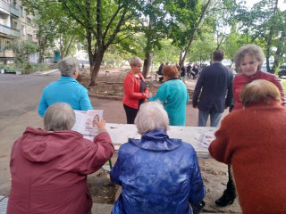 Активная работа кандидатов ВО «Батьківщина» в Терновском районе