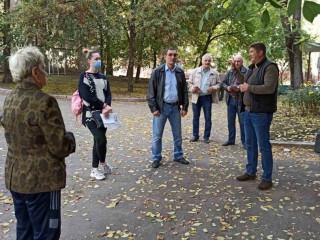 Ингулецкий район. Вопросы экологии и коммунальной сферы