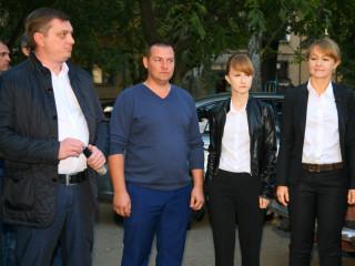 Кандидат на пост мэра Кривого Рога Ольга Бабенко встретилась с жителями улицы Электрозаводской