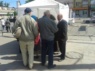 В Дзержинском районе работала открытая приемная