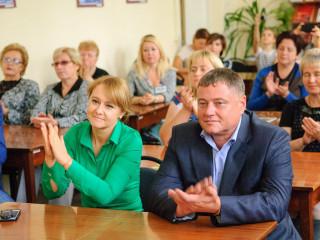 Ольга Бабенко поздравила библиотекарей с профессиональным праздником