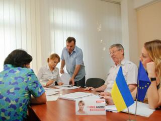 Ольга Бабенко провела прием граждан в Городской организации ВО «Батьківщини»