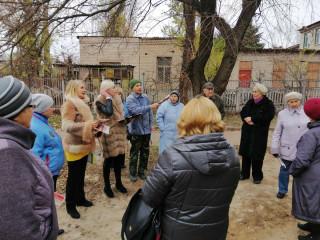 На бездействие – действием. Встреча с жителями улицы Тесленко