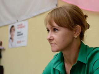 В офисе Дзержинской районной организации работала выездная приемная Ольги Бабенко