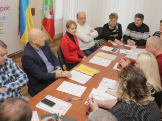 В общественной приемной Ольги Бабенко проведено расширенное заседание бюро Криворожской городской организации ВО «Батьківщина»