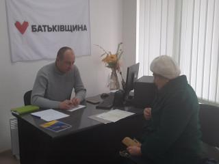 Содействие и помощь на приемах депутатов