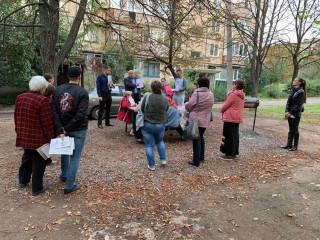 Люди говорят о наболевшем. Встречи в Саксаганском и Долгинцевском районах