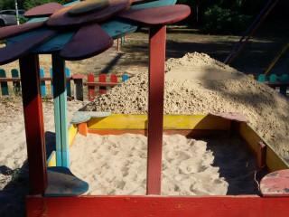 Песочница без песках?