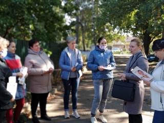 Встречи кандидатов в депутаты Металлургического и Центрально-Городского районов