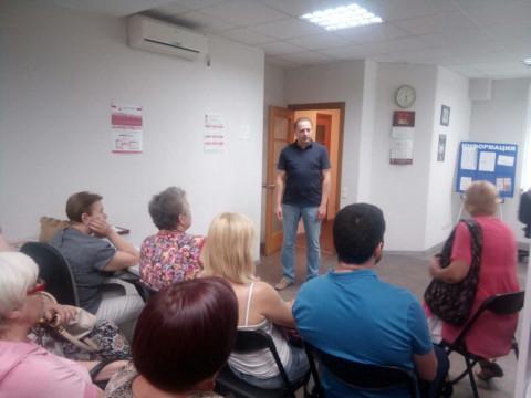 Игорь Вовкозуб и Наталья Ярковская обсудили с активистами «Новый курс Украины»