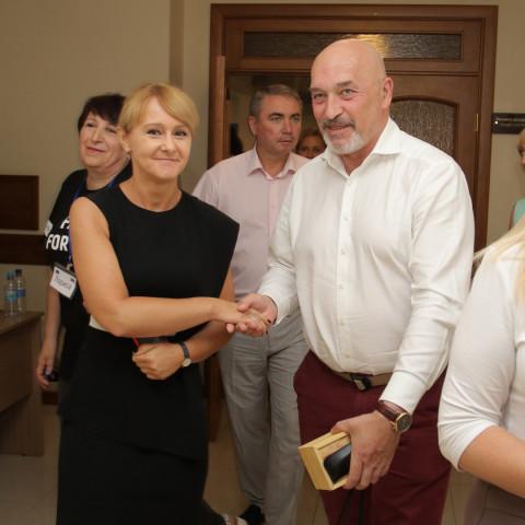 Ольга Бабенко приняла участие в конференции, посвященной проекту «Содействие интеграции и обеспечение прав ВПЛ в громаде г. Кривой Рог «Защита в действии»