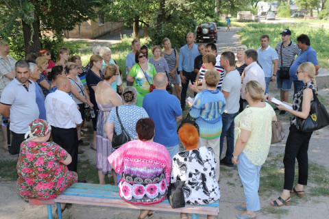 «Ни одно обращение не останется без рассмотрения», - Ольга Бабенко провела ряд встреч с жителями Металлургического района