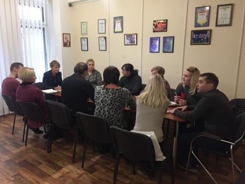 Состоялось совещание с руководителями районных организаций, депутатами районных советов ВО «Батьківщина»