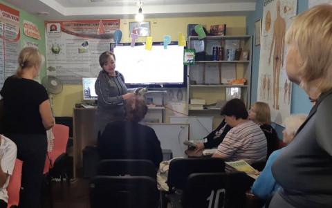 Татьяна Клевцова провела встречу с жителями района в оздоровительном центре «HAPPY DREAM»