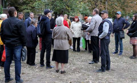 Встреча на Калнышевского. Чего хотят люди?