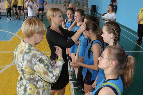 В спортивном комплексе «Пiвнiчне сяйво» состоялся ежегодный турнир по волейболу «Встреча трёх поколений»