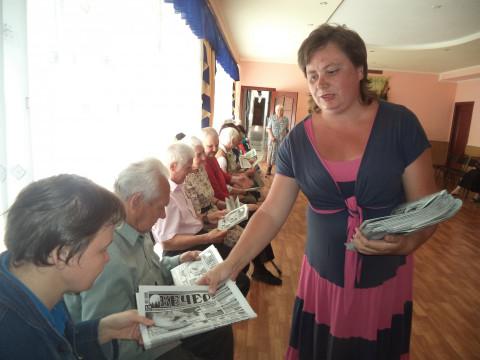 """Представники старшого покоління підтримали багато ініціатив глави """"ЗА Рiдне МIСТО"""" Ольги Бабенко"""