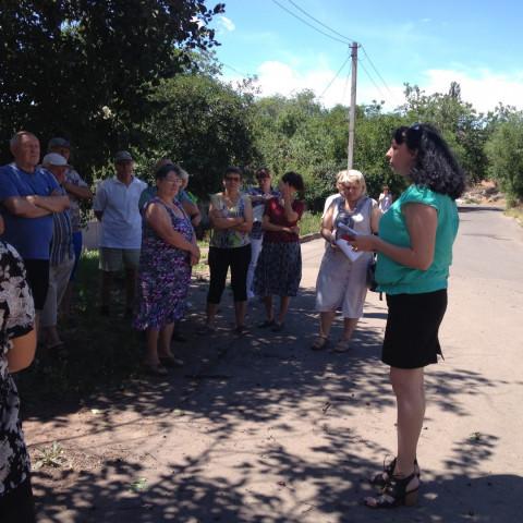 Представитель Горводоканала ответила на вопросы жителей Гданцевки