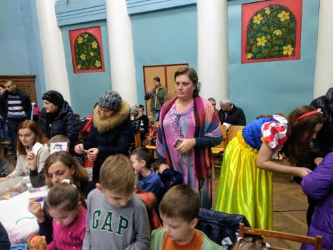 "Детям с ограниченными возможностями вручили подарки от  ""ЗА РIДНЕ МIСТО"""