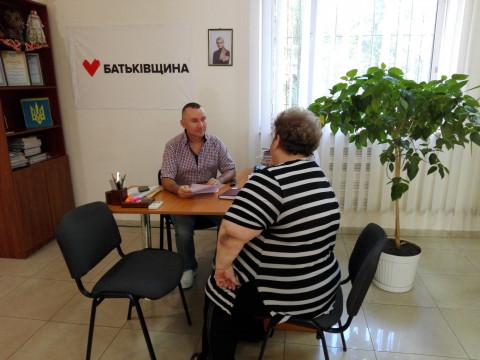 1 августа прошел плановый приём депутата Покровского райсовета Вадима Годыны