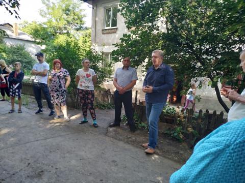 «Болевые точки» Тернов. Встреча Михаила Карого с жителями