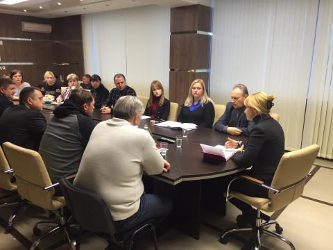 В общественной приемной Ольги Бабенко состоялось совещание с руководителями районных организаций, депутатами городского и районных советов ВО «Батьківщина»