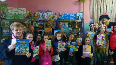 В библиотеке №9 проходит неделя детской книги