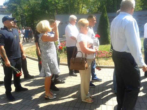 В Металлургическом районе прошли мероприятия, приуроченные к годовщине Иловайской трагедии