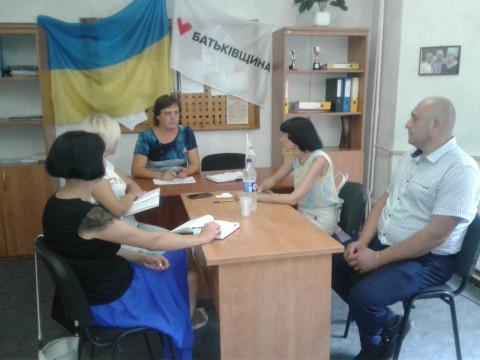 Екатерина Плотникова провела встречу с руководителями ПО