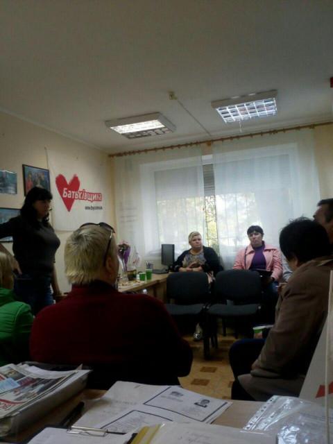 На повестке дня – работа. Встреча команды Долгинцевской организации ВО «Батьківщина»