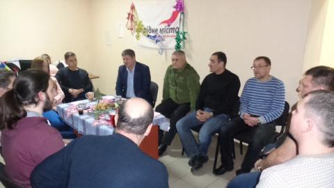 Новые активисты Ингулецкого района высказали своё видение будущего организации