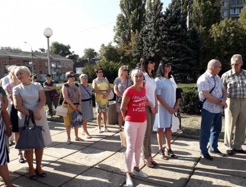 Празднование дня Государственного флага в Долгинцевском районе