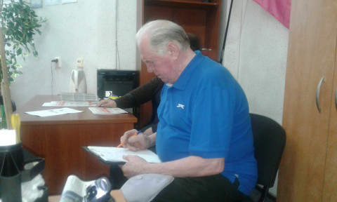 Сергей Кривошеин провёл плановый приём граждан в Терновском районе