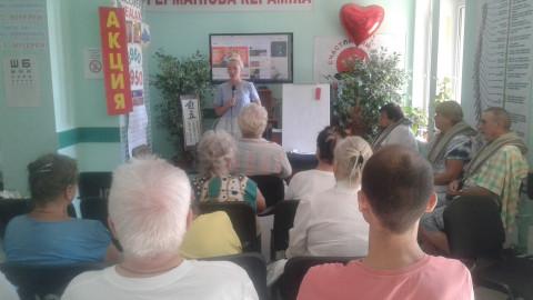 Елена Гузачева провела встречу с жителями района, посетив оздоровительный центр «HAPPY DREAM»
