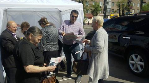 Открытые общественные приемные «За рідне місто» пользуются поддержкой среди криворожан