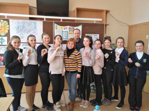 Тематический мастер-класс для учеников Педагогической гимназии №24