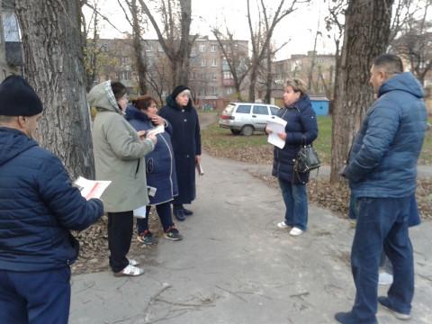 Экскурсия проблемами. Депутаты провели выездной прием жителей Металлургического района