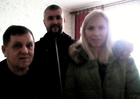 Представители «ЗА РІДНЕ МІСТО» поздравили ликвидаторов последствий аварии на ЧАЭС